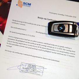 SCM alarmsysteem