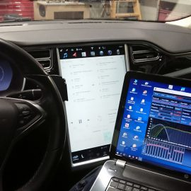 Tesla audioupgrade