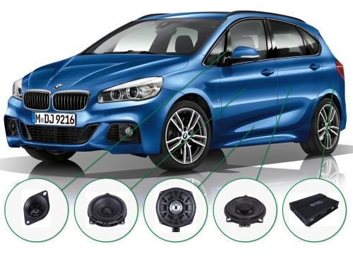 BMW 2 series audioupgrade